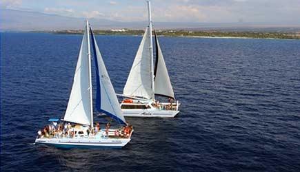 waikoloa snorkel sail