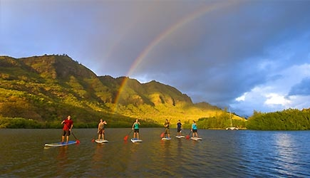 stand up paddle kauai