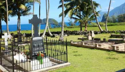 Grave of Father Damien