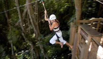 kipu safari ziplining