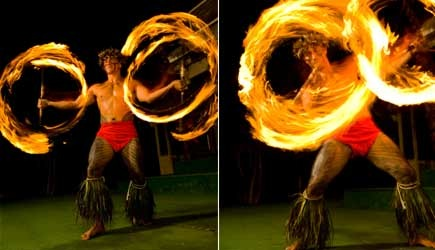'Paradise Cove Luau Samoan fireknife dance' from the web at 'http://adventureinhawaii.com/site/wp-content/uploads/2014/03/paradise-cove-luau-13.jpg'