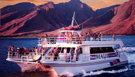 pride of maui sunset dinner cruise