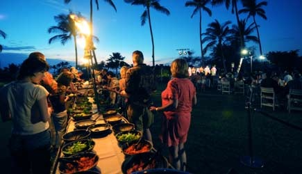 Marriott Big Island Hawaii Luau