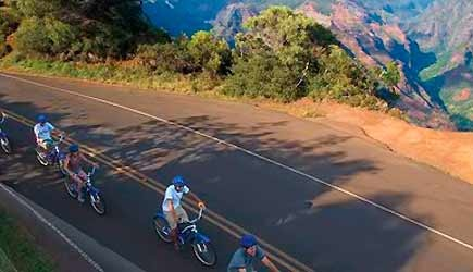 waimea canyon bike tour