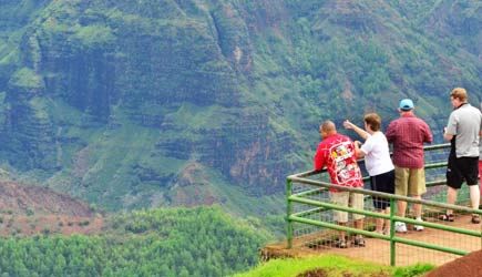 waimea canyon overlook