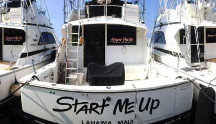 Start me up sportfishing for Start me up fishing