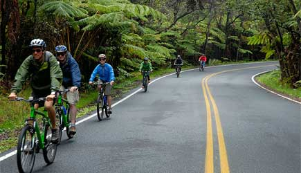 kilauea bike tour