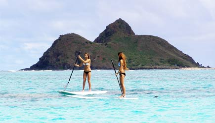 kailua stand up paddleboard