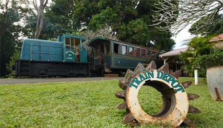 Kilohana plantation train