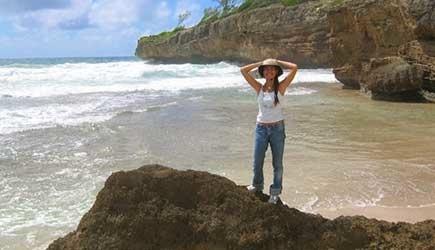 Exploring The Beautiful Remote Ss Of Mahaleapu More Tour Detailsreserve Now Horseback Riding On Kauai S